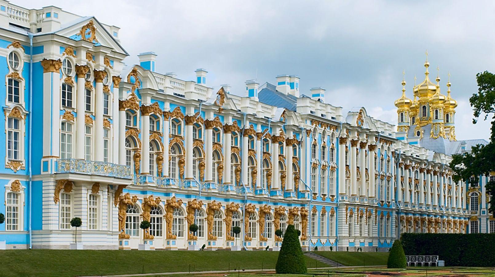 Большой (Екатерининский) дворец.