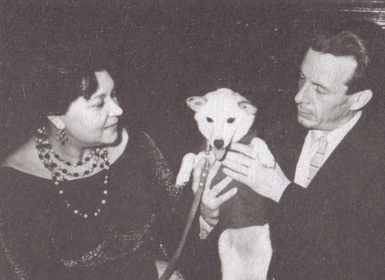 Клавдия Шульженко и Георгий Епифанов.