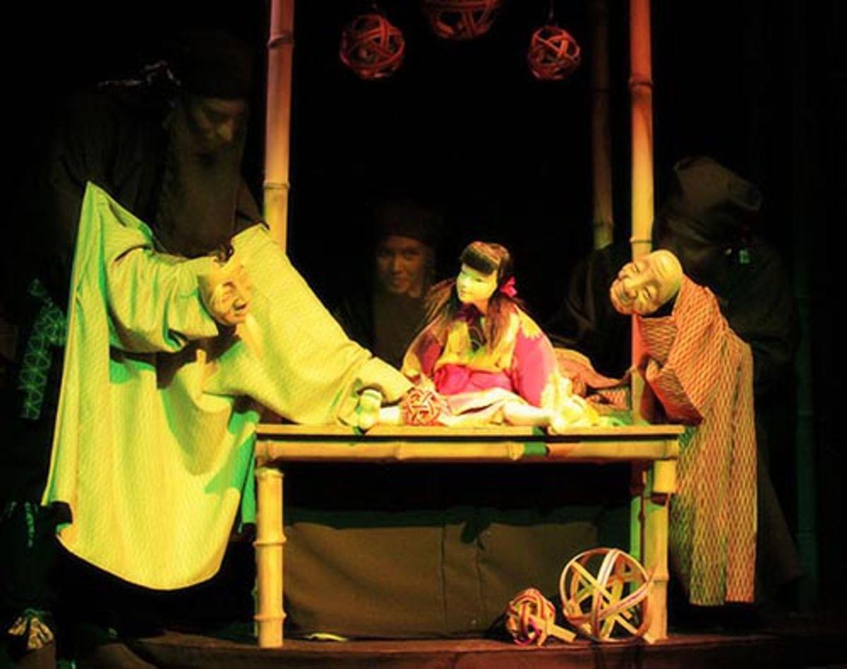 Театр кукол «Гулливер». Спектакль «Сияющая в ночи».