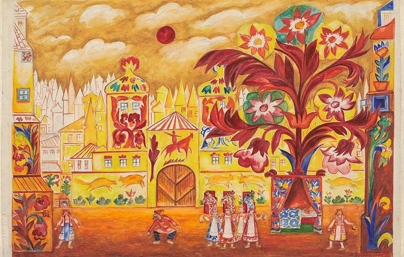 Картины Натальи Гончаровой