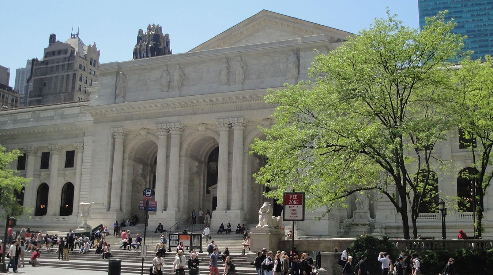 Российская государственная библиотека, Нью-Йоркская публичная библиотека