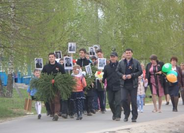 Митинг «Стоят обелиски над памятью вечной»