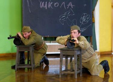 Спектакль «Войною прерванная юность...»