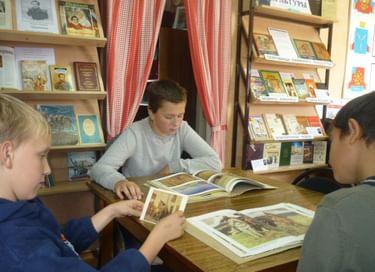 Библионочь в Хмелевской библиотеке