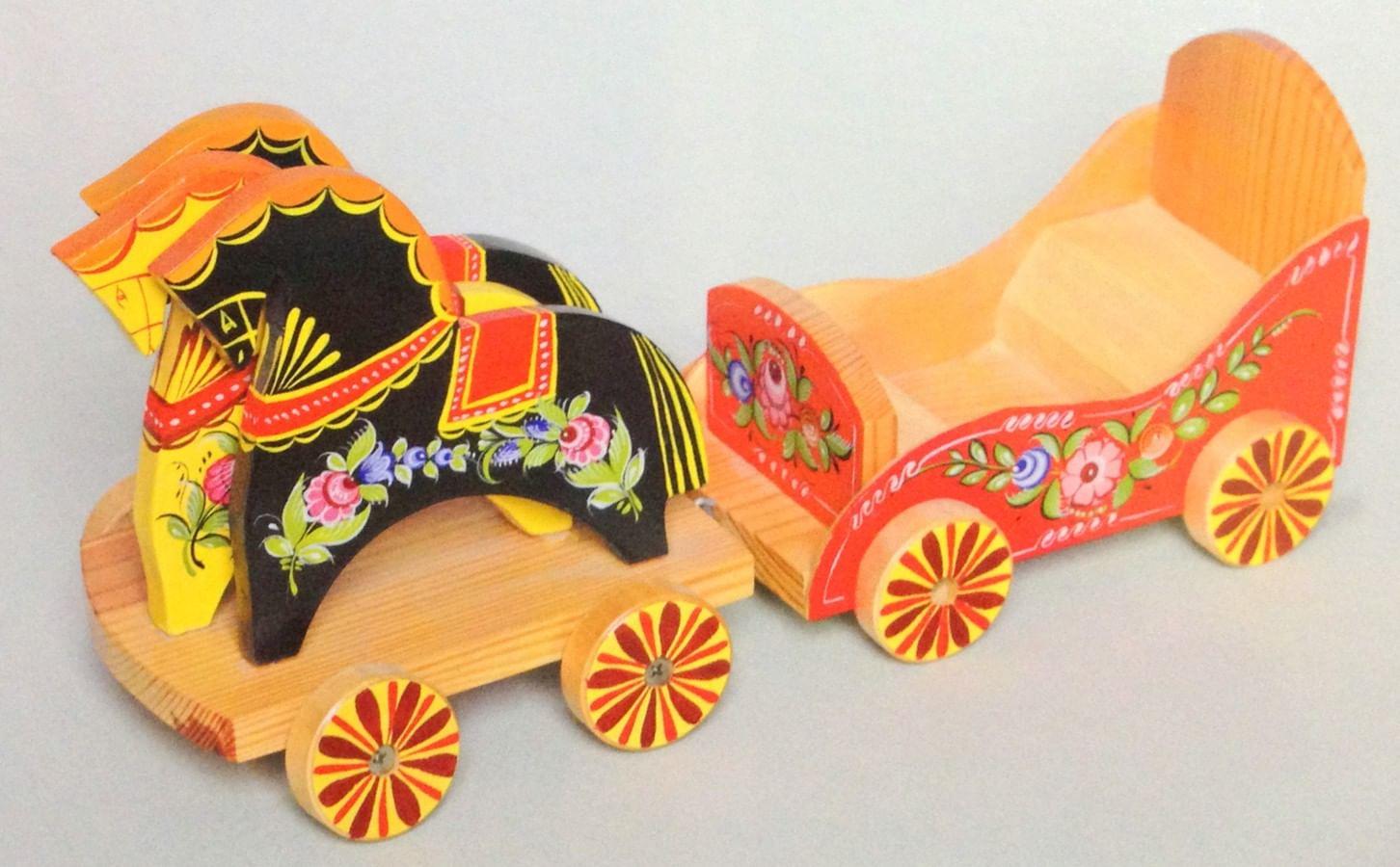 Городецкая игрушка (фото)