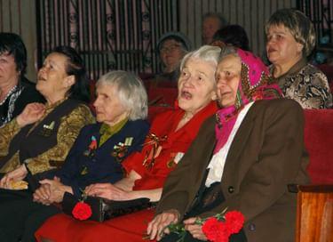 Концерт «Дети – ветеранам»