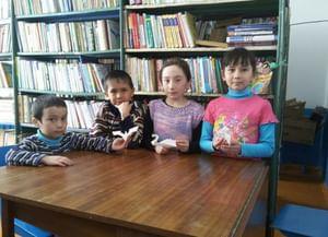 Сельская библиотека деревни Новобайрамгулово