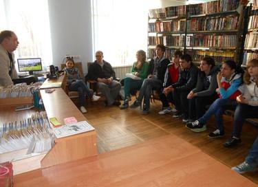 Библионочь в Егорлыкской центральной библиотеке