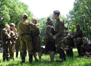 Интерактивная площадка «Солдатский привал»