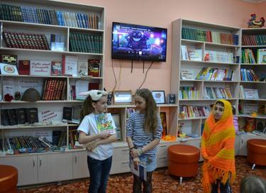 Библиосумерки в Октябрьской сельской модельной библиотеке