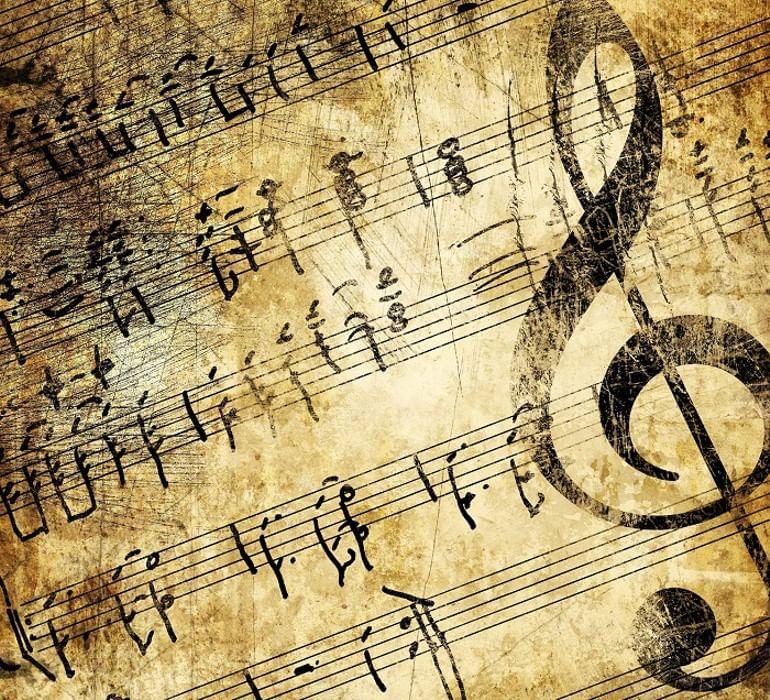 В музыке картинки