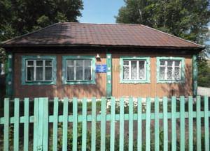 Сельская библиотека деревни Октябрьск
