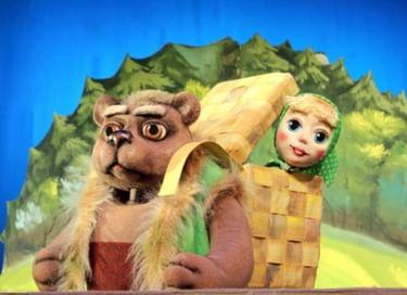 Спектакль «Машенька и медведь»