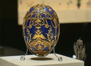 Пасхальный сюрприз дляМарии Федоровны. Яйца Фаберже: подарок ипроизведение искусства
