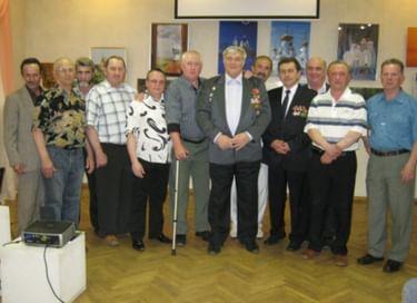 Встреча участников ликвидации последствий на Чернобыльской АЭС