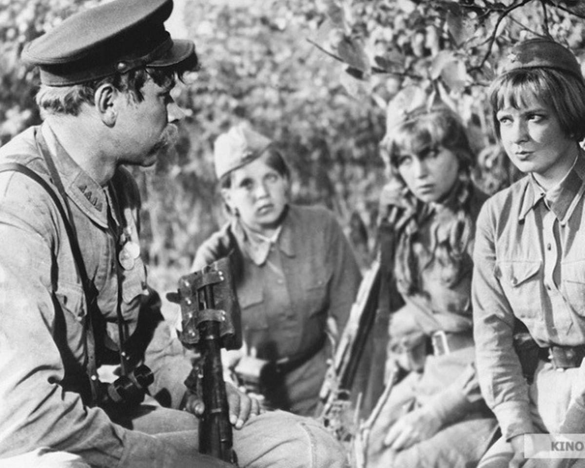 «А зори здесь тихие» 1972