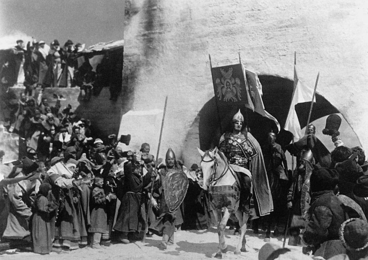 Александр невский фильм 1938 картинки, днем
