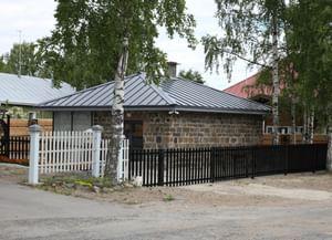 Кузница музея «Кижи» в квартале исторической застройки г. Петрозаводска