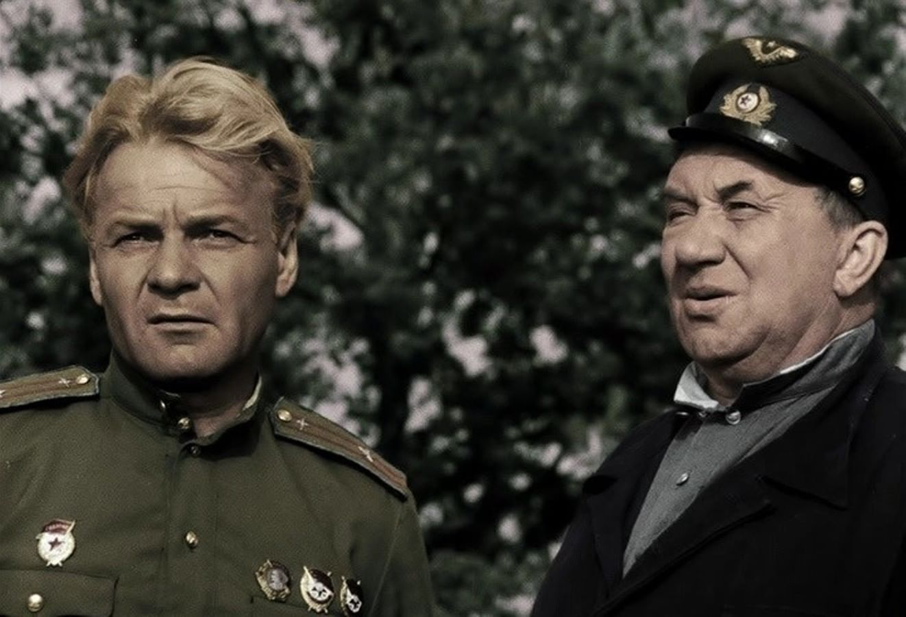 Кадры из фильма «В бой идут одни старики»