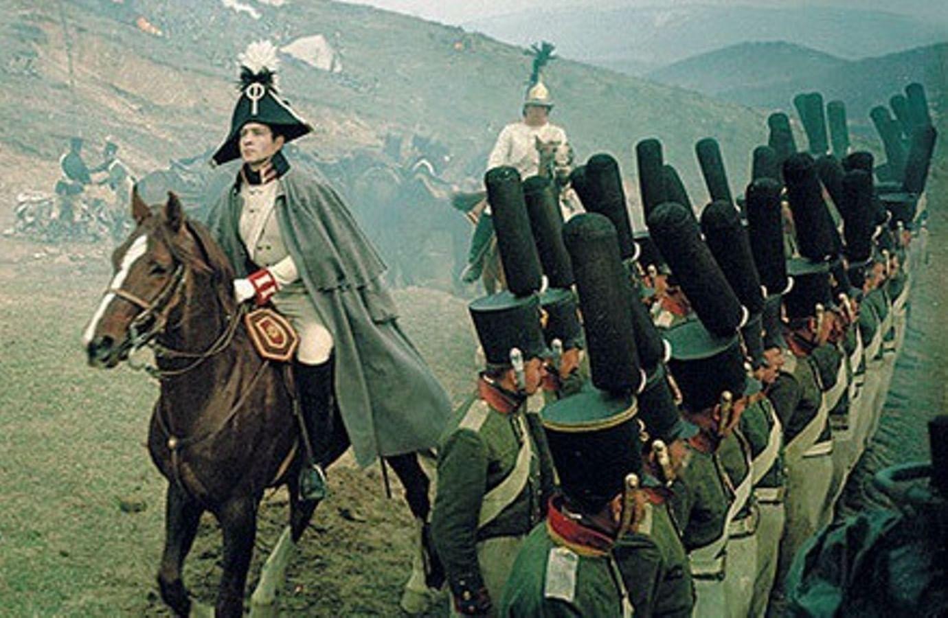 Кадры из фильма «Война и мир»
