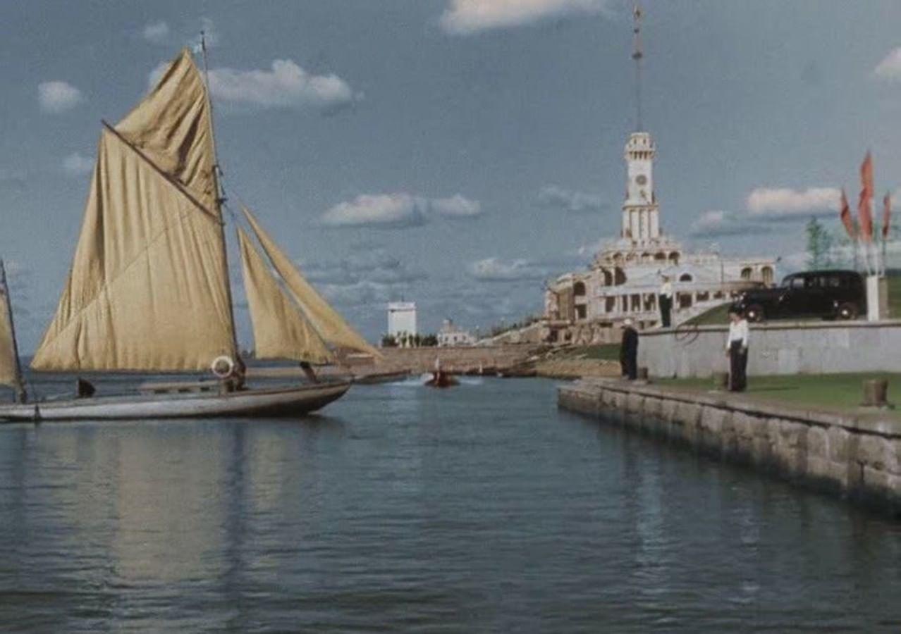 Кадры из фильма «Волга-Волга»