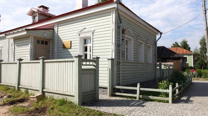 Библиотека музея «Кижи» в квартале исторической застройки г. Петрозаводска