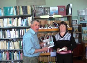 Библиотека села Верхнелачентау