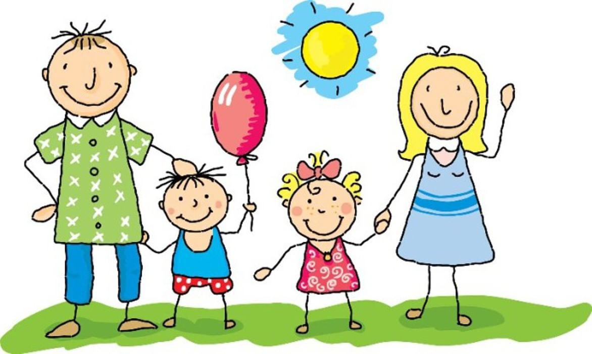 Про четверг, картинки взрослые и дети вместе рисованные