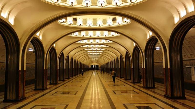 станции московского метро фото