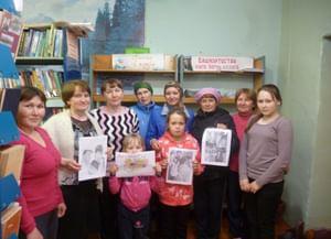 Библиотека села Шелканово