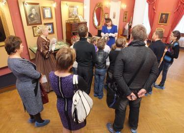 Ночь музеев в Музее А. С. Пушкина