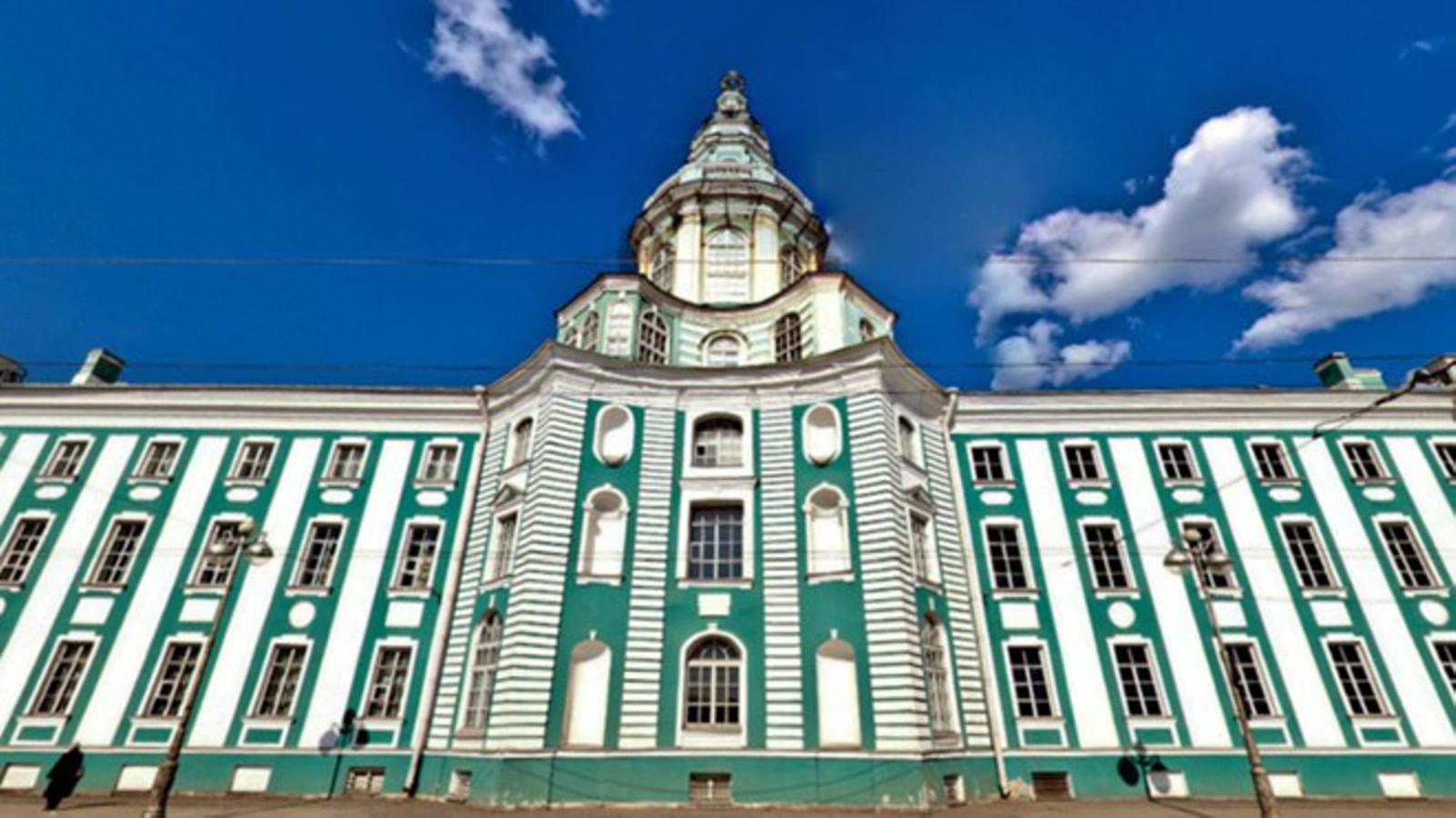 Кунсткамера, Санкт-Петербург. 3 изображения