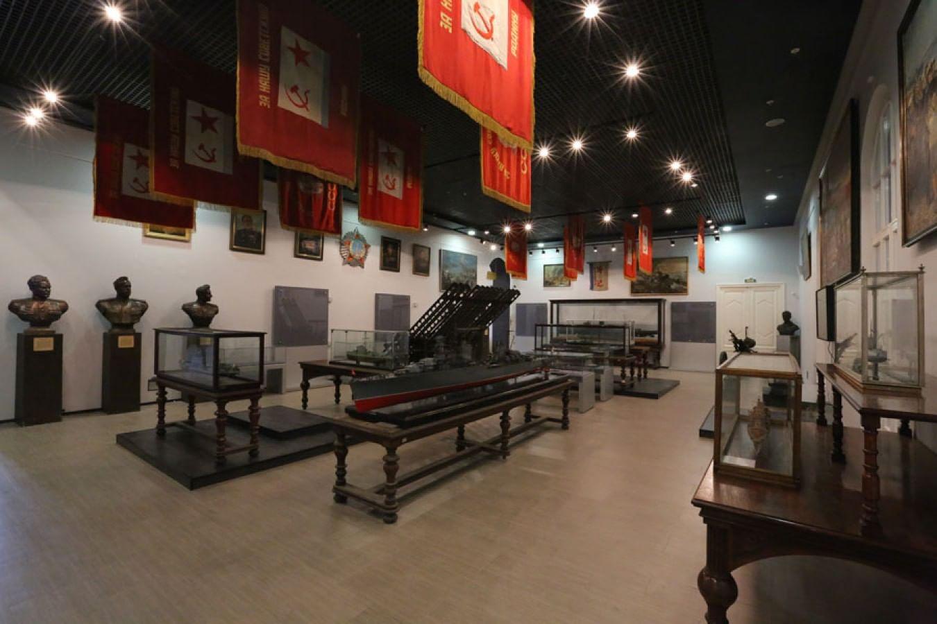 Центральный военно-морской музей. 3 изображения
