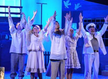 Спектакль «Любовь и голуби»