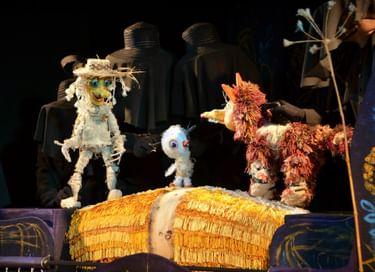 Спектакль «Аистёнок и Пугало»