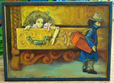 Выставка «Живые куклы»