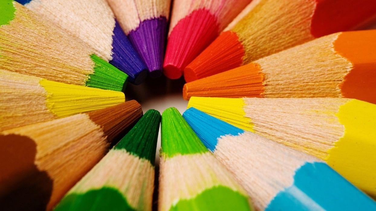 Картинки разных цветов краски, открытка