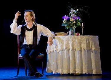 Моноспектакль Сергея Безрукова «И жизнь, и театр, и кино...»
