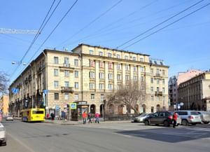 Библиотека им. В. И. Ленина на Воскова