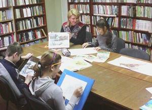 Ольгинская сельская библиотека