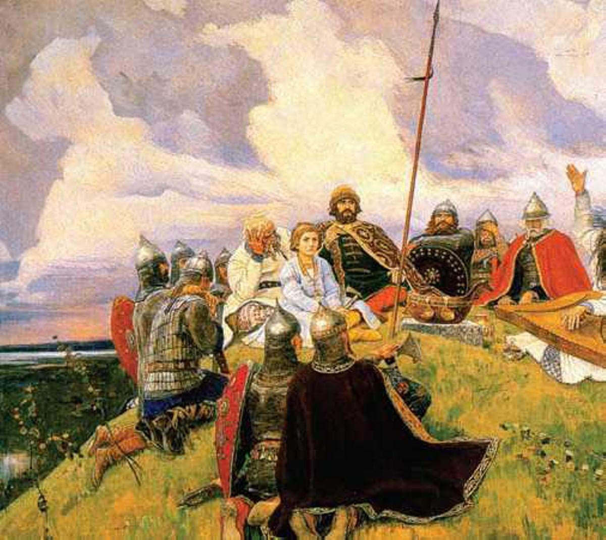 Аполлон Майков – путь от греков к варягам. Галерея 2