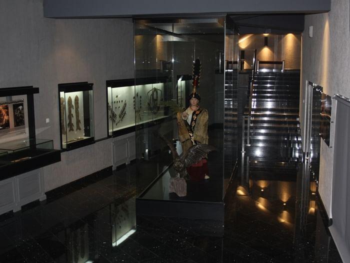 Выставка «Экспонирование мумии женщины пазырыкской культуры V–III вв. до н. э.»