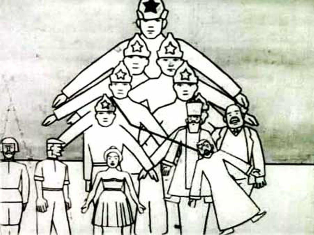 Зарождение российской мультипликации: 1920-1940-е годы. Галерея 1