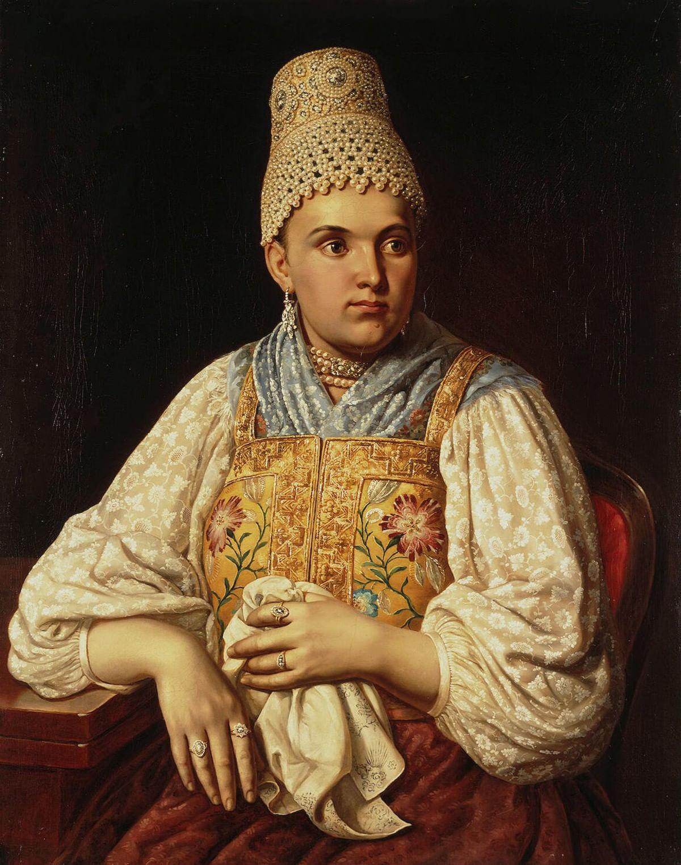 Любовь к жемчугу: Перлы в русском искусстве. Галерея 2