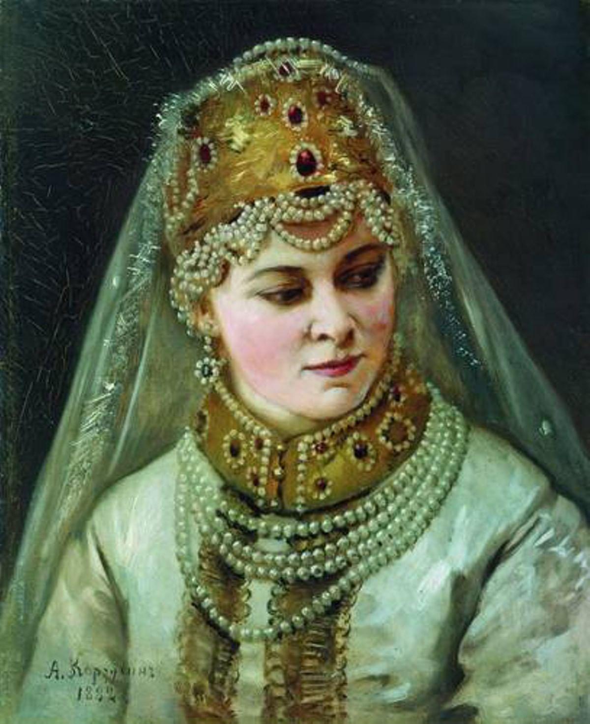 Любовь к жемчугу: Перлы в русском искусстве. Галерея 1