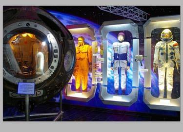 Экспозиция «Космонавты в Сочи»