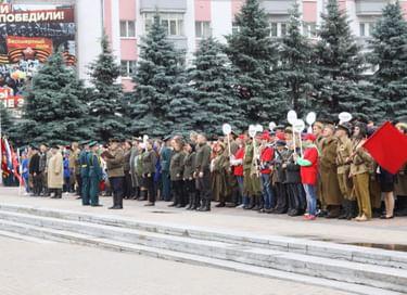 Международный патриотический фестиваль «Партизанскими тропами Брянщины»