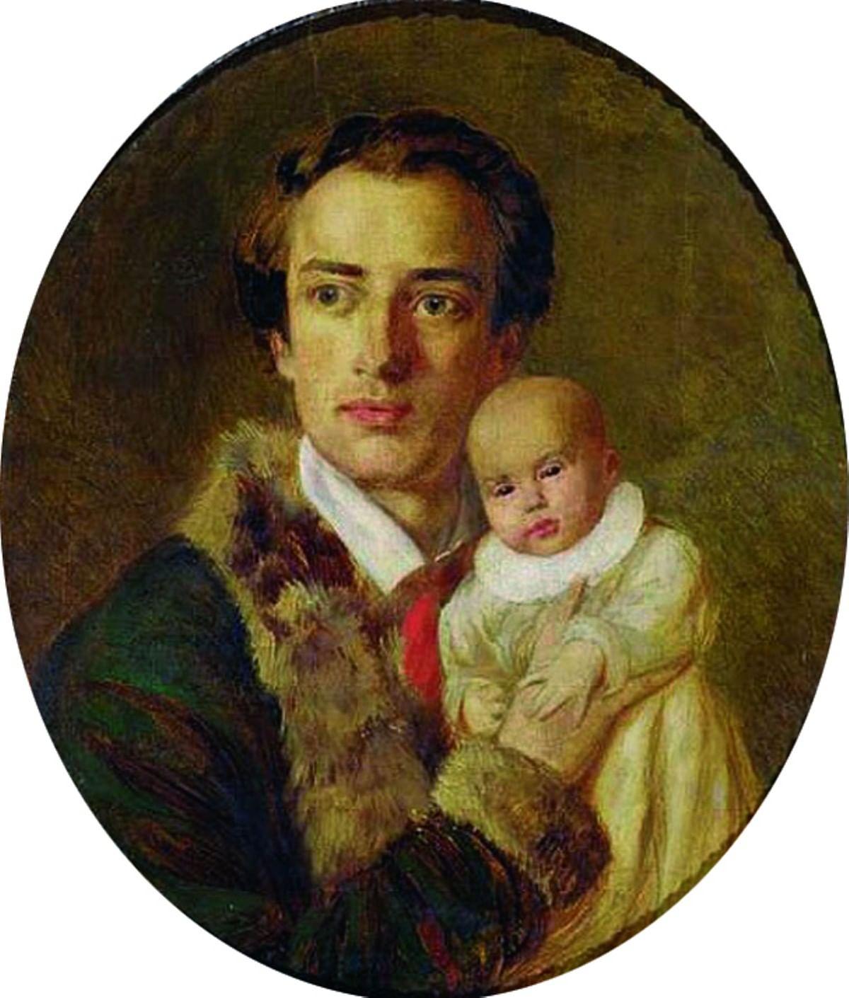 Матери-героини Российской империи: Портреты и стихи. Герцены