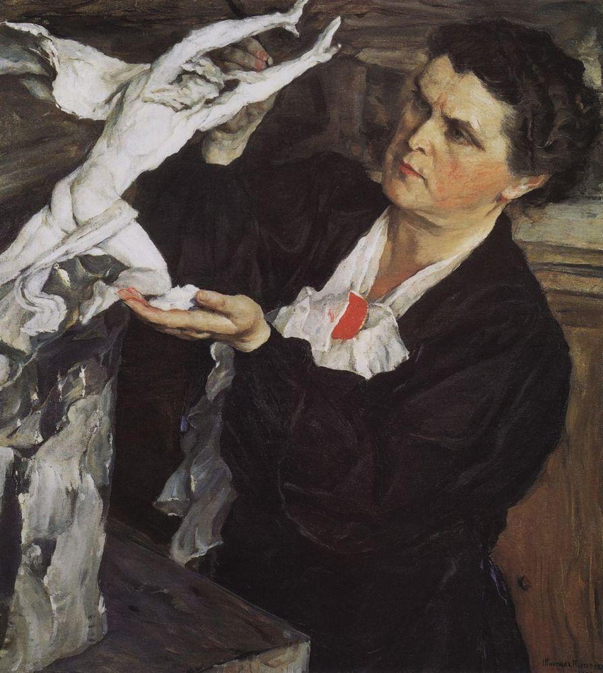 Первая дама советской скульптуры. 10 фактов о Вере Мухиной. Галерея 5