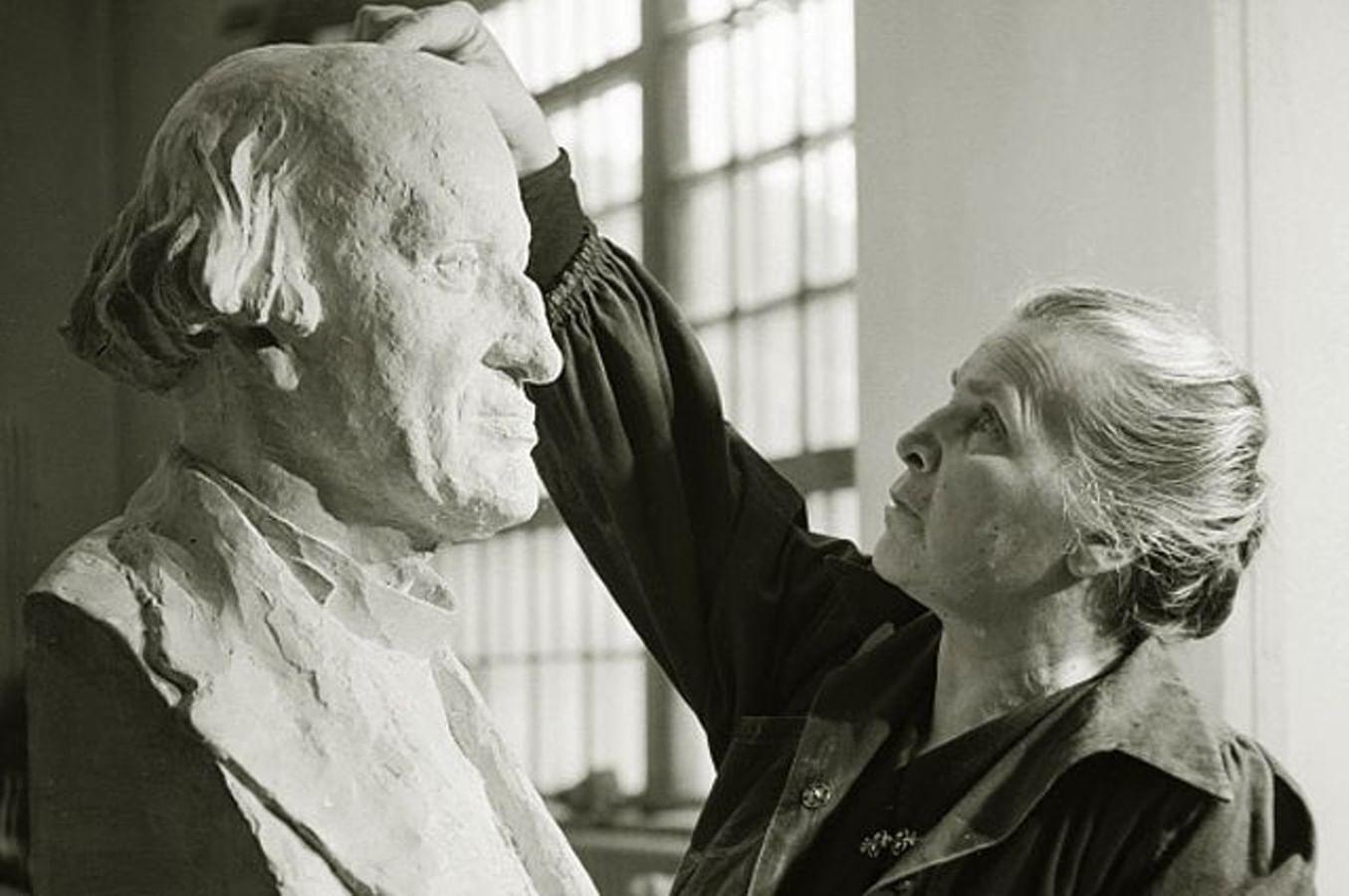 Первая дама советской скульптуры. 10 фактов о Вере Мухиной. Галерея 1
